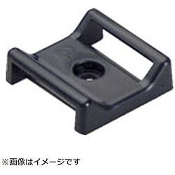 パンドウイット パンドウイット タックタイ用タイマウント M3ネジ止め 難燃性黒 (100個入) ABMT-S6-C60 ABMTS6C60