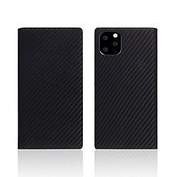ROA iPhone11 Pro carbon leather case Black SD17860I58R