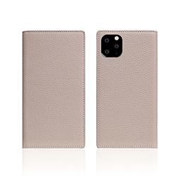 ROA iPhone11 Pro Full Grain Leather Case Light Cream SD17869I58R