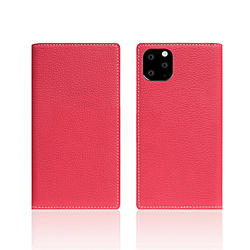 ROA iPhone11 Pro Full Grain Leather Case Pink Rose SD17873I58R