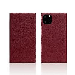 ROA iPhone11 Pro Full Grain Leather Case Burgundy Rose SD17874I58R