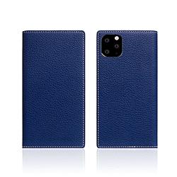 ROA iPhone11 Pro Full Grain Leather Case Navy Blue SD17876I58R