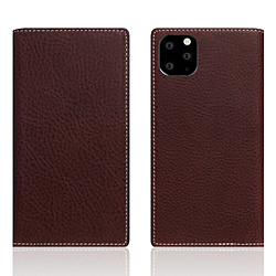 ROA iPhone11 ProMax Minerva Box Leather Case ブラウン SD17949I65R