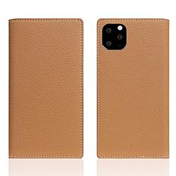ROA iPhone11 ProMax Full Grain Leather Case Caramel Cream SD17952I65R