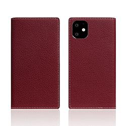 ROA iPhone11 Full Grain Leather Case Burgundy Rose SD17915I61R
