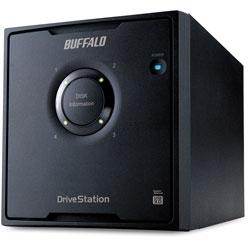 BUFFALO(バッファロー) HD-QL16TU3/R5J 外付HDD [USB3.0・16TB] 4ドライブモデル/RAID 5対応 HDQL16TU3R5J