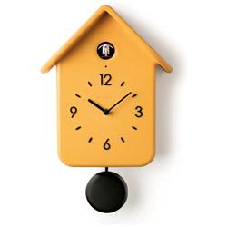 グッチーニ 振り子鳩時計 QQ CUCKOO 168602165 オークル 168602165
