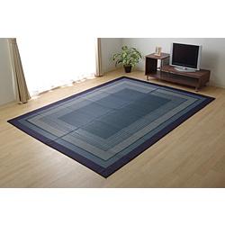 イケヒコ 純国産い草ラグ DXランクスNV 約140×200cm (裏:不織布) 8239000