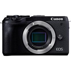 Canon(キヤノン) EOS M6 Mark II ミラーレス一眼カメラ ブラック [ボディ単体] EOSM6MK2BKBODY
