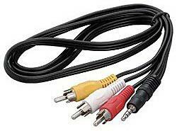 ツインバード 全品最安値に挑戦 VL-CH32 VLCH32 全商品オープニング価格 ステレオビデオコード