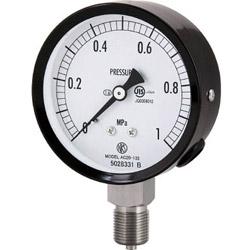 長野計器 長野 普通形圧力計(A枠立形・φ75・G3/8B・0.0~0.16Mpa) AC20-133-0.16MP AC201330.16MP