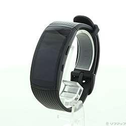 【中古】SAMSUNG(サムスン) Galaxy Gear Fit 2 Pro Large SM-R365NZKAXJP ブラック【291-ud】