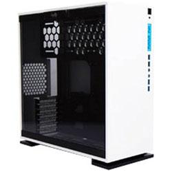 INWIN IN WIN 強化ガラス製サイドパネル採用 ミドルタワーATXケース 303 ホワイト (IW-CF06W 303-White) IWCF06W303WHITE