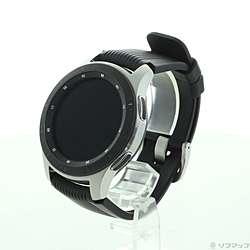 【中古】SAMSUNG(サムスン) Galaxy Watch SM-R800NZSAXJP シルバー【291-ud】