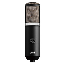 AKG アーカーゲー 9種類の指向特性を備えた高品位 ラッピング無料 ブラック 店 P820TUBE 真空管マイクロホン