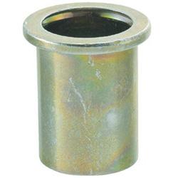 トラスコ中山 クリンプナット平頭ステンレス 板厚4.0 M8X1.25 100入 TBN8M40SSC TBN8M40SSC