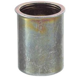 トラスコ中山 クリンプナット薄頭スチール 板厚4.0 M10X1.5 500入 TBNF10M40SC TBNF10M40SC