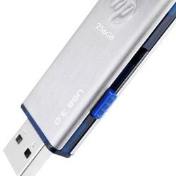 hp(ヒューレットパッカード) HPFD730W-512 USBメモリ キャップレス 耐衝撃・防滴・防塵 [USB 3.0/512GB/シルバー] x730w HPFD730W512