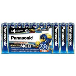 在庫一掃 Panasonic パナソニック 倉庫 LR03NJ 20SW 単4電池 20本 LR03NJ20SW アルカリ エボルタ EVOLTA