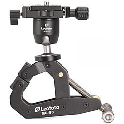 LEOFOTO Leofoto 自由雲台つきマルチクランプ MC-50+MTB-19 [自由雲台(ボール雲台)] MC50+MTB19