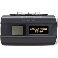 アサヒリサーチ バイクカメラ Driveman BS-10B ブラック [一体型 /スーパーHD・3M(300万画素) /GPS対応] BS10B
