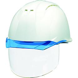 DICプラスチック DIC 透明バイザーヘルメット(シールド面付) AP11EVO-CSW KP 白/ブルー AP11EVO-CSW-HA6-KP-W/B AP11EVOCSWHA6KPWB