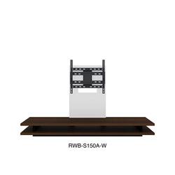 TOSHIBA 東芝 宅配便送料無料 レグザ純正壁寄せテレビローボード RWB-S150A-W 贈答 RWBS150AW