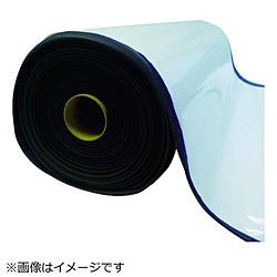 トラスコ中山 TRUSCO EPDMスポンジロール テープ付 10mm厚 幅1000mmX10m TAFLT-10-10100 TAFLT1010100