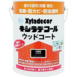 カンペハピオ KANSAI 売れ筋 水性XDウッドコートS 3.4L パリサンダ 期間限定今なら送料無料 00097670230000