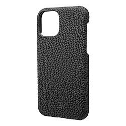 坂本ラヂヲ Shrunken-calf Leather Shell for iPhone 11 Pro 5.8インチ BLK GSCSCIP01BLK