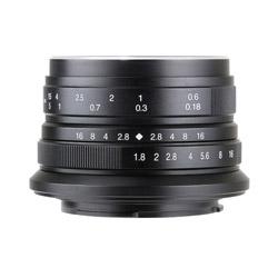 七工匠 7artisans 25mm F1.8 25FXB ブラック [FUJIFILM Xマウント] 広角レンズ(MFレンズ) 25FXB