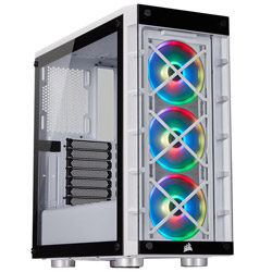 CORSAIR(コルセア) 465X RGB White CC-9011189-WW (ミドルタワーケース/電源別売り) CC9011189WW