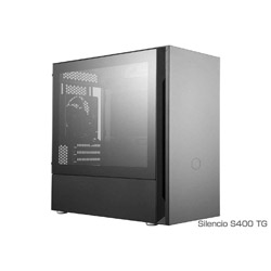 クーラーマスター PCケース Silencio S400 TG MCS-S400-KG5N-S00 ブラック MCSS400KG5NS00