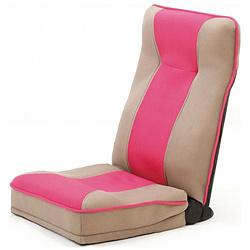ファミリーライフ 整体師さんが推奨する 健康ストレッチ座椅子 375510 ピンク 375510