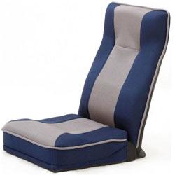 ファミリーライフ 整体師さんが推奨する 健康ストレッチ座椅子 375520 ブルー 375520