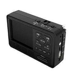 テレマルシェ エコラジ7 TLMEER007 ブラック [テレビ/AM/FM/短波] TLM-ETR007K