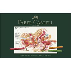 ファーバーカステル Castell ポリクロモスパステルセット 128536