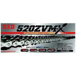 大同工業 バイク用チェーン カラー:SILVER ZJ(カシメタイプ) 520ZVM-X-120L 520ZVMX120L