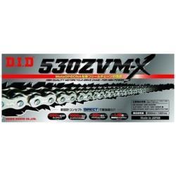 大同工業 バイク用チェーン カラー:SILVER ZJ(カシメタイプ) 530ZVM-X-130L 530ZVMX130L