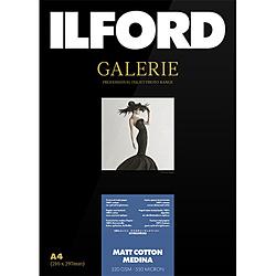 イルフォード イルフォードギャラリーマットコットンメディナ 320g/m2(A4・50枚)ILFORD GALERIE Matt Cotton Medina 433238 433238