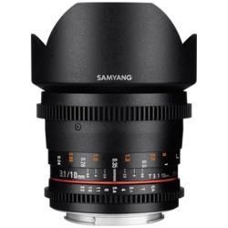ー品販売  SAMYANG(サムヤン) カメラレンズ 10mm T3.1 VDSLR ED AS NCS CSII APS-C用 ブラック [キヤノンEF /単焦点レンズ] CINE10MMT31CS2EOS, イビグン 40506aed