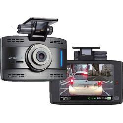 ワーテックス ドライブレコーダー 配線タイプ IRサブカメラ付き(赤外線付き) XLDR-ADAS-IR-B [一体型 /HD(100万画素) /駐車監視機能付き] XLDRADASIRB