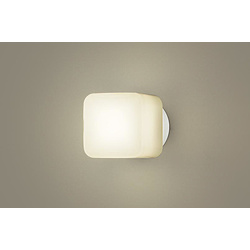 Panasonic(パナソニック) 浴室照明 LGW85015WZ ホワイト [電球色 /LED /防雨・防湿型 /要電気工事] LGW85015WZ