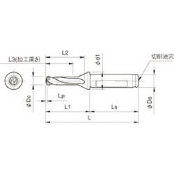 KYOCERA(京セラ) 京セラ ドリル用ホルダ SF16-DRC105M-3 SF16DRC105M3