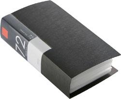 在庫限り BUFFALO バッファロー BSCD01F72BK CD 受賞店 72枚収納 豊富な品 DVDファイル ブックタイプ 振込不可 ブラック