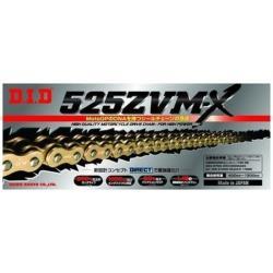 大同工業 バイク用チェーン カラー:GOLD ZJ(カシメタイプ) 525ZVM-X-110L 525ZVMX110L