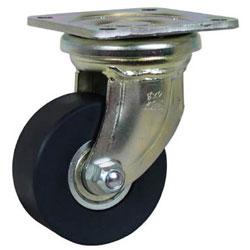 シシクアドクライス DHJ-100U-MCMO シシク 低床超重荷重用キャスター 100径 ユニクロメッキ MCMO車輪 DHJ100UMCMO