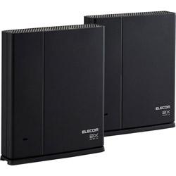 <title>ELECOM エレコム Wi-Fi 6ルーター 親機 中継器セット 1201+574Mbps 2020A/W新作送料無料 ブラック WMC-2LX-B 6 ax ac n a g b WMC2LXB</title>