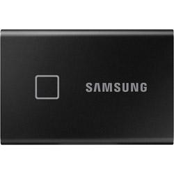 SAMSUNG(サムスン) MU-PC500K/IT 外付けSSD USB-C+USB-A接続 T7 Touch ブラック [ポータブル型 /500GB] MUPC500KIT