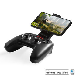 SteelSeries ゲームパッド SteelSeries  69089 [Bluetooth /Mac OS·iOS /11ボタン] NIMBUS+